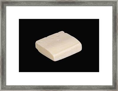 Emmentaler Framed Print by Science Stock Photography