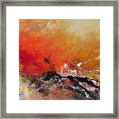 Emotion 2 Framed Print by Ismeta Gruenwald