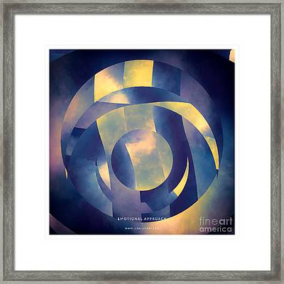Emotional Approach Framed Print by Lonnie Christopher