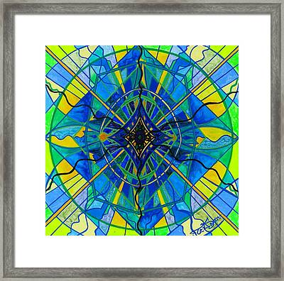 Emotional Expression Framed Print by Teal Eye  Print Store