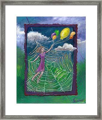 Emotional Freedom -- Flower Essence Series Framed Print by Maria Valladarez