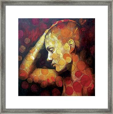 Emotions Framed Print by Karina Llergo