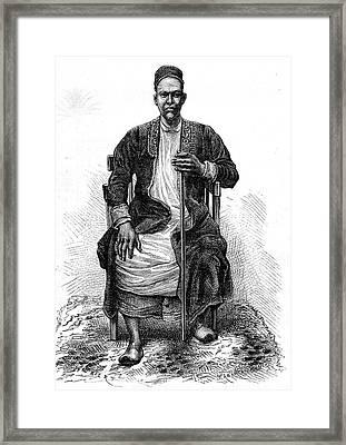 Emperor Of Uganda Framed Print by Collection Abecasis