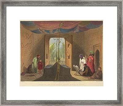 Emperor Soolta Mahmood Of Ghuznee Framed Print by British Library
