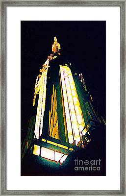 Empire State Building Framed Print by John Malone
