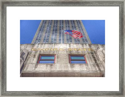 Empire State Building Framed Print by Marianna Mills