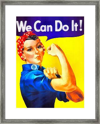Empowerment Framed Print by Dan Sproul