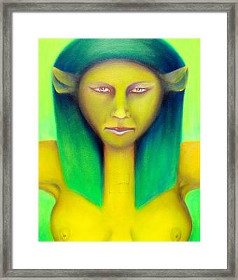 Empress Framed Print by Roger Williamson