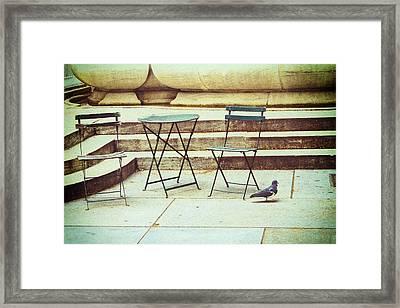 Empty Framed Print by Karol Livote