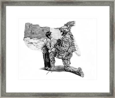 Empty Pockets  Framed Print by Peter Piatt
