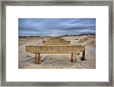 Empty Support Framed Print by Mike Horvath