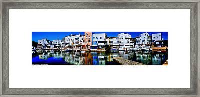 Empuriabrava Spain Framed Print by Isaac Silman