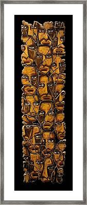 Empyreal Souls No. 5 Framed Print by Steve Bogdanoff