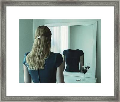 Emty Inside Framed Print by Roland Helerand