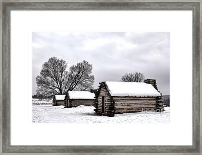 Encampment Framed Print by Olivier Le Queinec