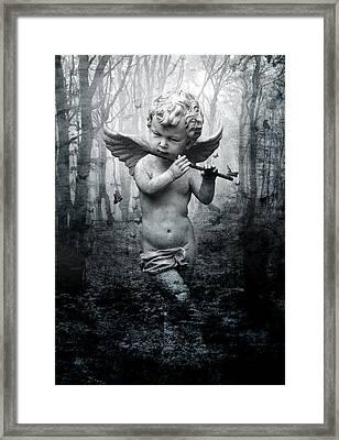 Enchant Framed Print by Marc Huebner