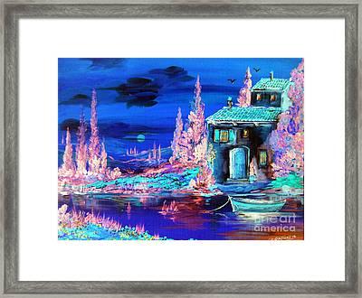 Enchanted Night  Framed Print by Roberto Gagliardi