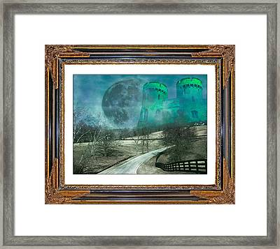 Enchanting Evening With Oz Framed Print by Betsy C Knapp