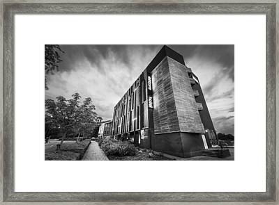 Encore Hotel Framed Print by Gary Gillette
