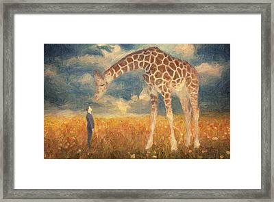 Encounter Framed Print by Taylan Soyturk