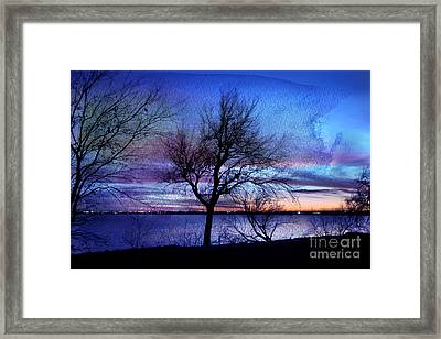 End Of Day Framed Print by Betty LaRue