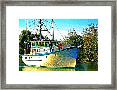 End Of Day Framed Print by Joseph Coulombe