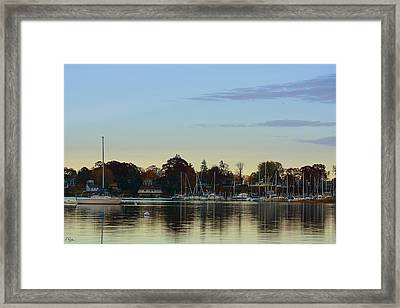 End Of Sail Framed Print by Lourry Legarde