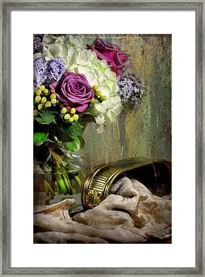End Of The Day Framed Print by Diana Angstadt