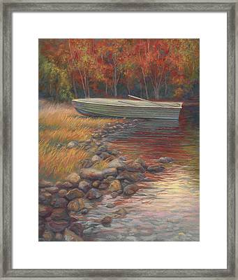 End Of The Day Framed Print by Lucie Bilodeau