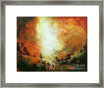 End Of The Day Framed Print by Neil McBride