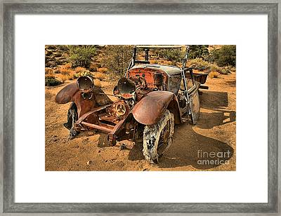 End Of The Line Framed Print by Adam Jewell