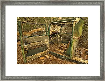 End Of The Road Framed Print by Adam Jewell