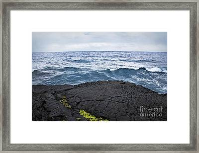 End Of The Road Framed Print by Ellen Cotton