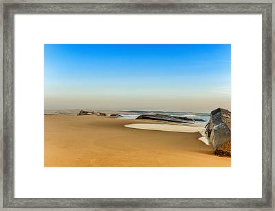Framed Print featuring the photograph End Of The World by Thierry Bouriat