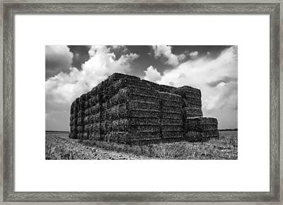 End Of Work Day Framed Print by Mountain Dreams