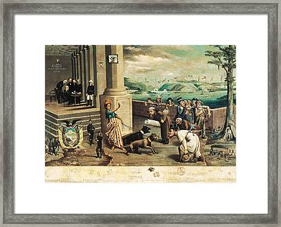 Endara, Carlos Manuel 1827 - 1924. The Framed Print by Everett