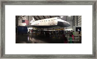 Endeavour Space Shuttle Framed Print by Susan Garren