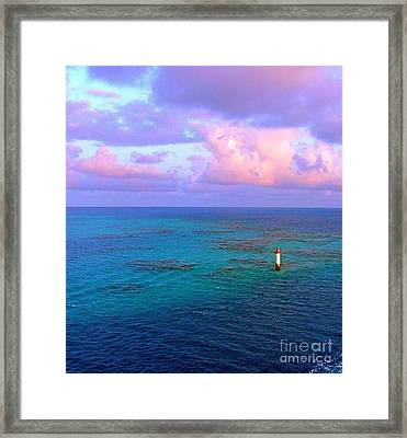 Endless Horizon Framed Print by Judy Palkimas