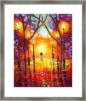 Endless Love Framed Print by Jessilyn Park