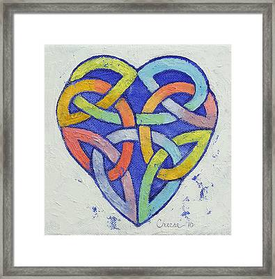 Endless Rainbow Framed Print by Michael Creese