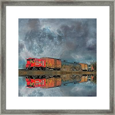 End's Reflection Framed Print by Betsy C Knapp