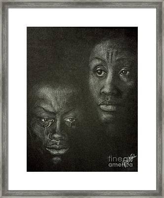 Endurance Framed Print by Joey Nash