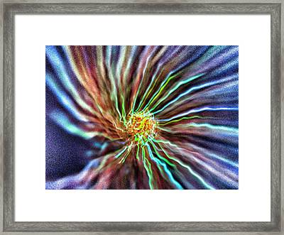 Energy - Abstract  Framed Print by Marianna Mills