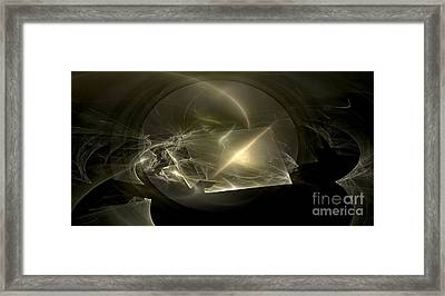 Energy Breaks Framed Print by Peter R Nicholls