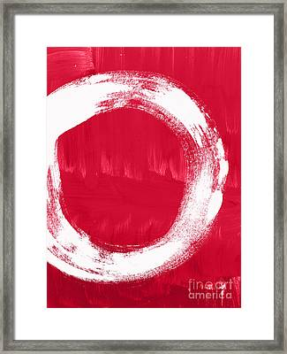 Energy Framed Print by Linda Woods