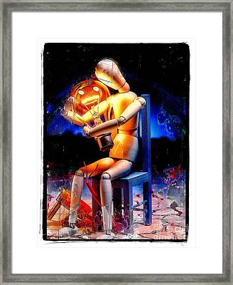 Energy Love Framed Print by Mauro Celotti
