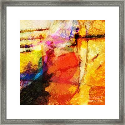 Energy Framed Print by Lutz Baar