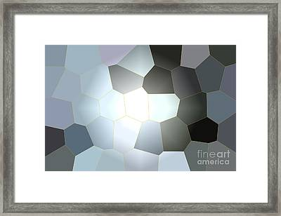 Energy Within - Abstract Art Framed Print by Carol Groenen