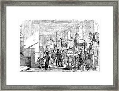 England Currency, 1854 Framed Print by Granger
