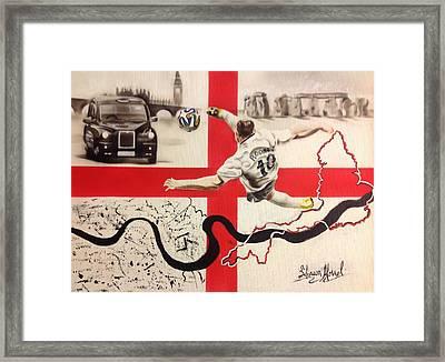 England Framed Print by Shawn Morrel